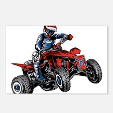 Sports atv Postcards (Package of 8)