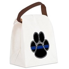 Cute Police Canvas Lunch Bag