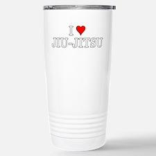 I Love Jiu-Jitsu Travel Mug