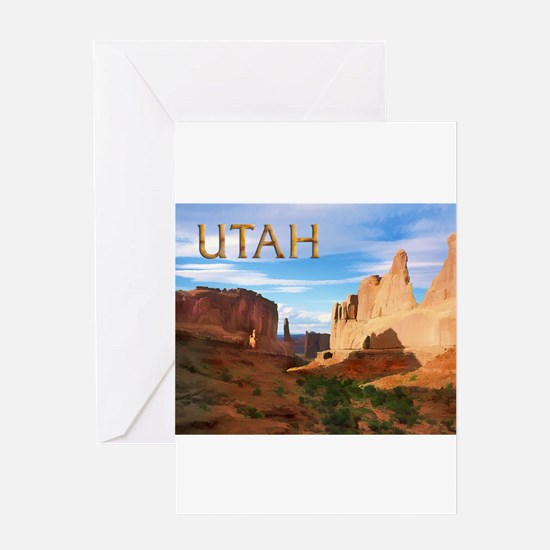 Utah smaller Greeting Cards