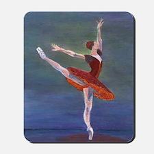 Red Ballerina Mousepad