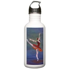 Red Ballerina Water Bottle