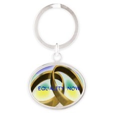 EQUALITY NOW Oval Keychain