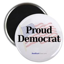 """Proud Democrat"" Magnet"