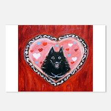 Schipperke Love Postcards (Package of 8)