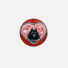 Schipperke Love Mini Button