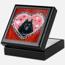 Schipperke Love Keepsake Box