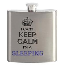 Unique Keep calm sleep Flask