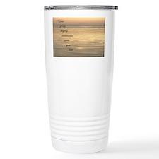 Corny sunset parody Travel Mug