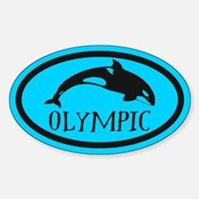 Olympic Whale Watching Decal