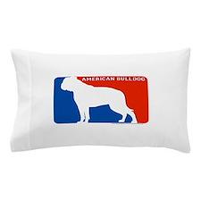 Cute American bulldog Pillow Case