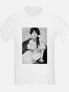 evelyn nesbit antique photo black white T-Shirt