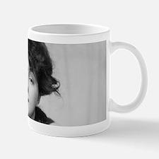 evelyn nesbit antique photo black white Mugs