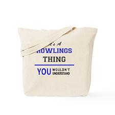 Rowling Tote Bag