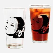 Girl music Drinking Glass