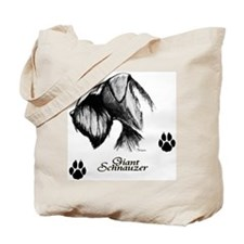 Unique Giant schnauzers Tote Bag
