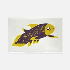 Galactic Coelacanth Rectangle Magnet