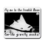 To The Moon Mousepad