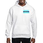 Hooded Sweatshirt - True Blue North Dakota LIBERAL