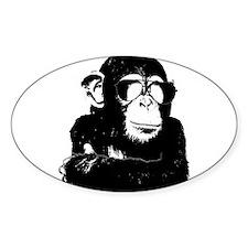 The Shady Monkey Decal
