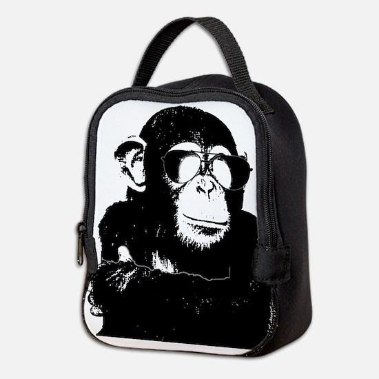 The Shady Monkey Neoprene Lunch Bag