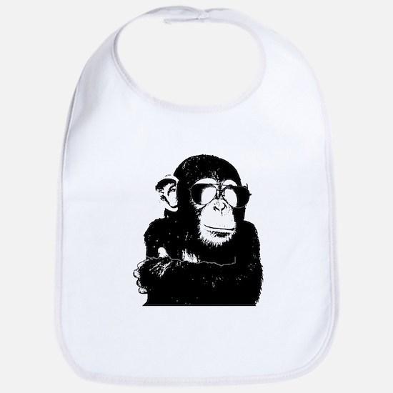 The Shady Monkey Bib