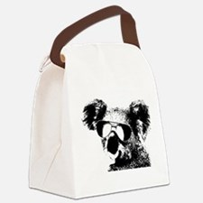 The Shady Koala Canvas Lunch Bag