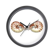 Nautiluses Wall Clock