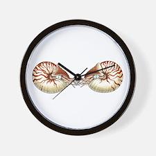 Nautiluses Wall Clock