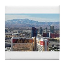Vegas View Tile Coaster