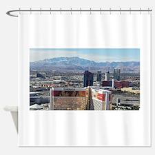 Vegas View Shower Curtain