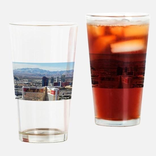 Vegas View Drinking Glass