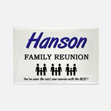 Hanson Family Reunion Rectangle Magnet