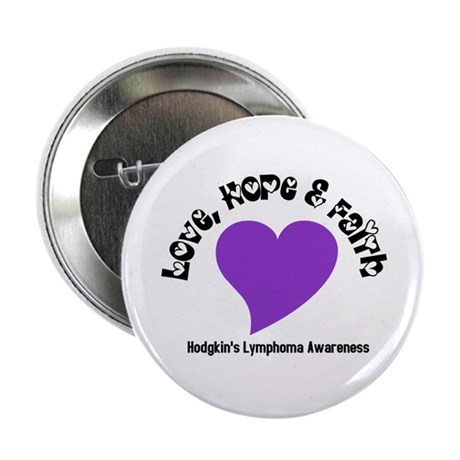 "Violet Heart 2.25"" Button (10 pack)"