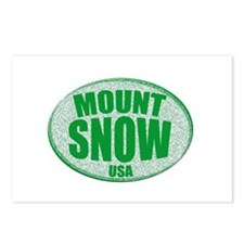 Mount Snow USA Postcards (Package of 8)
