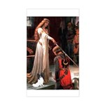 Princess & Papillon Sticker (Rectangle)