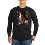 Princess & Papillon Long Sleeve Dark T-Shirt