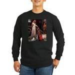Princess & Papillon Long Sleeve Dark T-Shirt