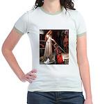 Princess & Papillon Jr. Ringer T-Shirt