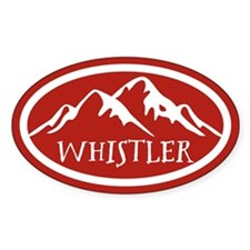 Whistler Mountain Decal