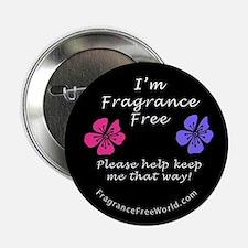 I'm Fragrance Free! Button
