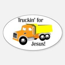 truckin' for Jesus Decal