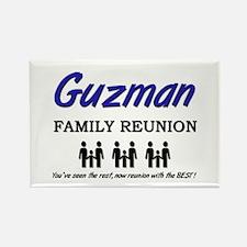 Guzman Family Reunion Rectangle Magnet