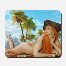 Pirate Girl Mousepad