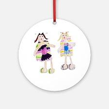 Mothgirls Ornament (Round)