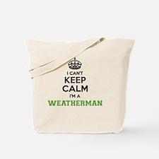 Cute Weatherman Tote Bag