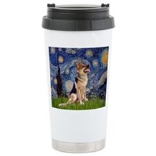 Cute Jeans dog shop Travel Mug