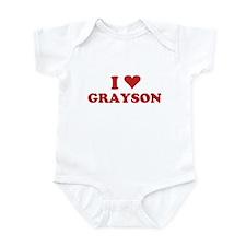I LOVE GRAYSON Infant Bodysuit