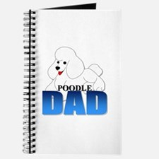 White Poodle Dad Journal