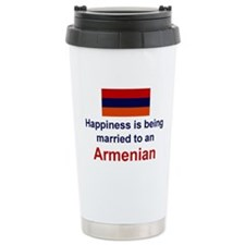 Cute Armenia Travel Mug